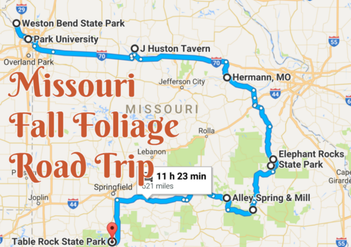 8 Unforgettable Road Trips To Take In Missouri Before You Die