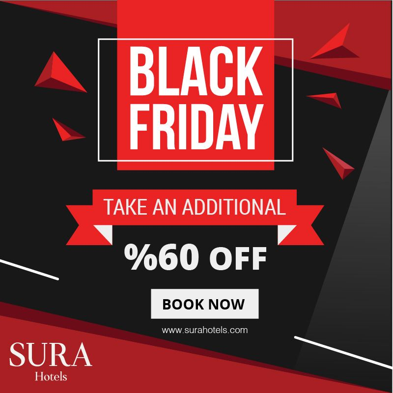 The biggest shopping week of the year is approaching !  Book Date: 27.11.2019 / 02.12.2019  Travel Date: 27.11.2019 / 31.03.2020  #surahotels #offers #blackfriday2019 #BlackFriday #shopping #book #travel