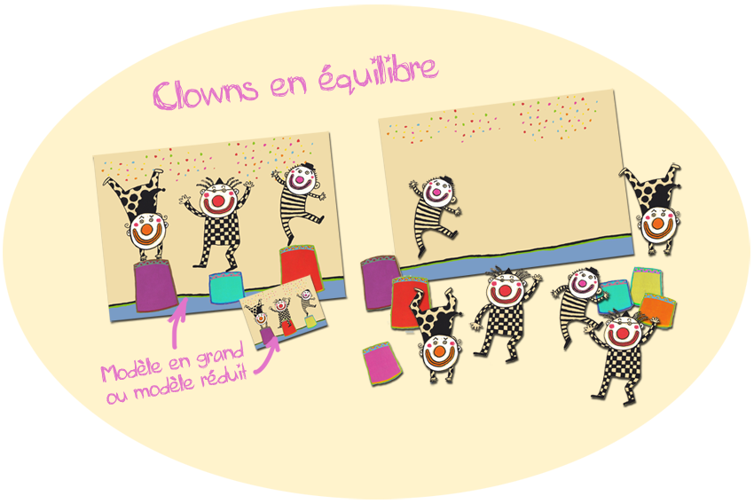 billes de clowns maternelle ps ms topologie cirque exploitation album cirque. Black Bedroom Furniture Sets. Home Design Ideas