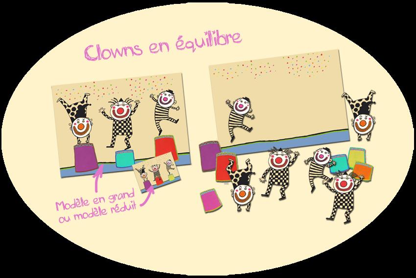 billes de clowns maternelle ps ms topologie cirque exploitation album cirque. Black Bedroom Furniture Sets. Home Design Ideas