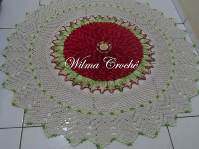 Wilma Crochê: TAPETES