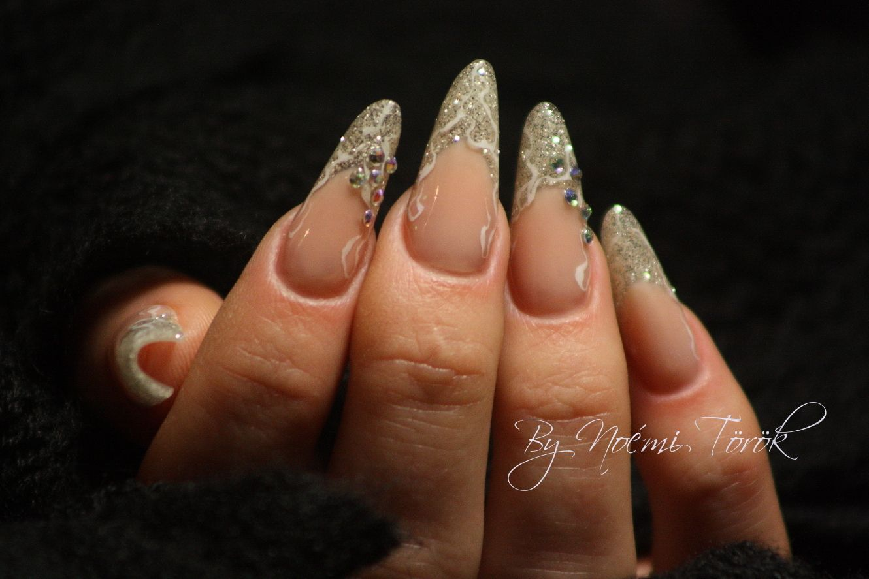 acrylic long oval nails - Google Search   Nail art   Pinterest ...