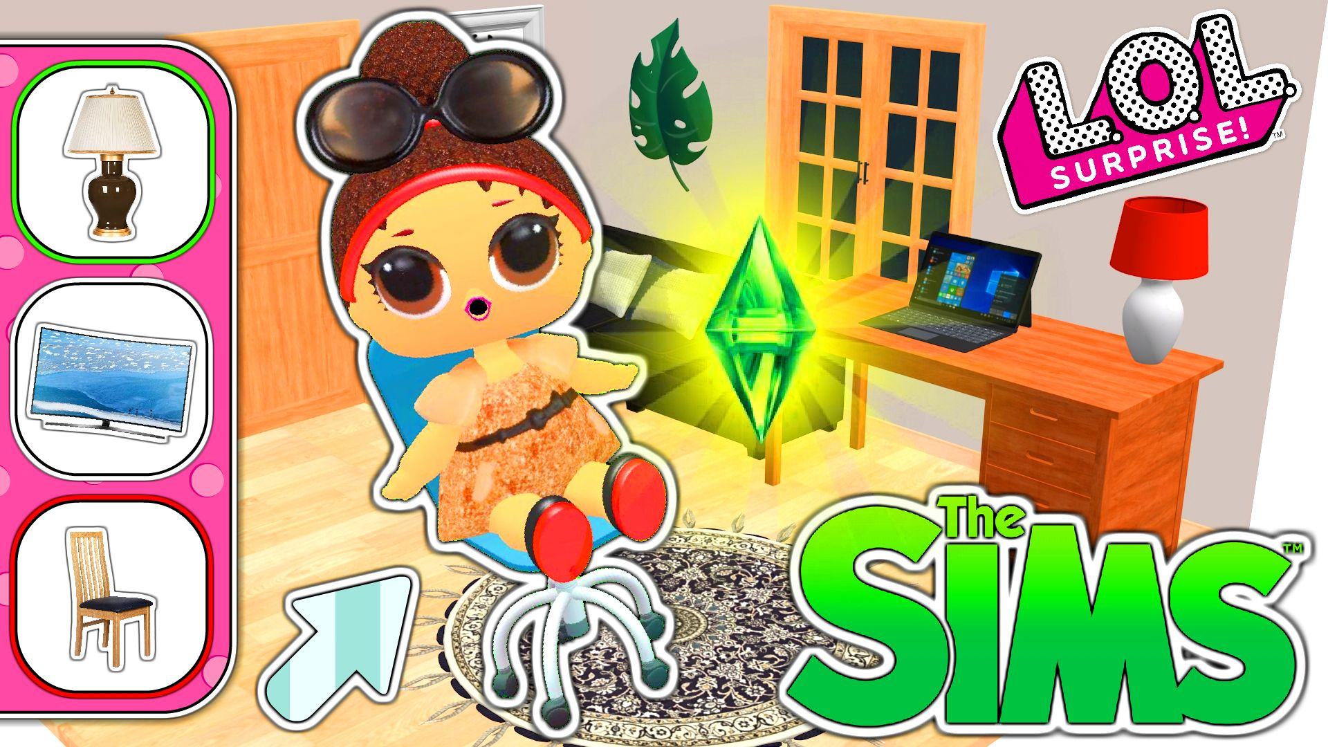 Let S Play Thesims 4 With Lolsurprise Dolls Movin In Da House