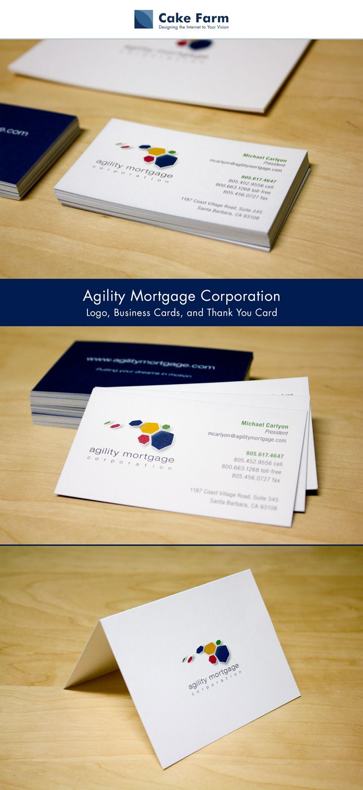 print | graphic design | business card | thank you card | agility ...