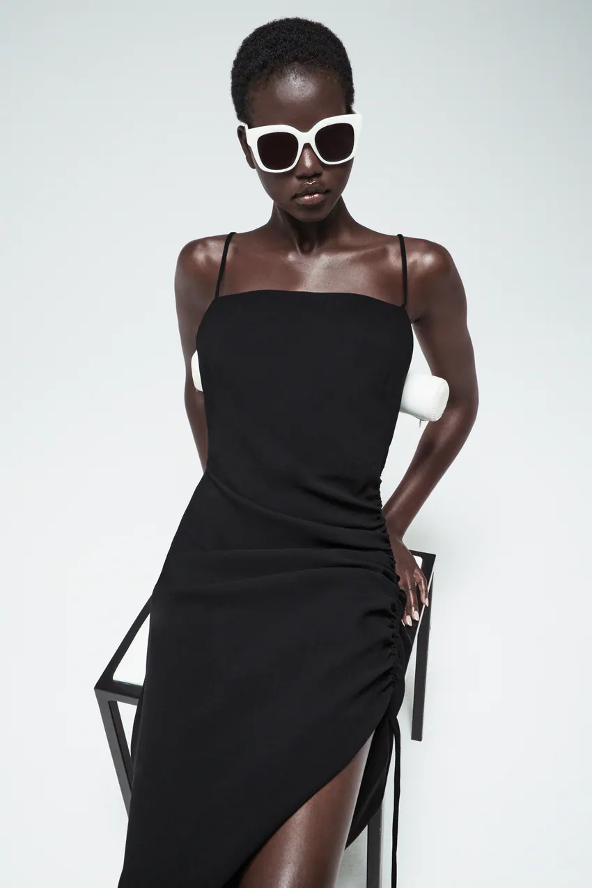 draped dress in 2020 | drapiertes kleid, abendmode damen
