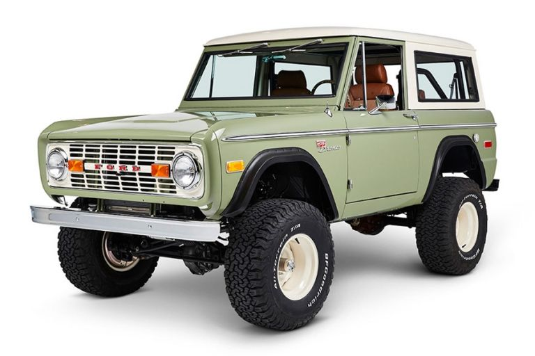 Ford Bronco Coyote Restoration Silicon Valley Modernizes A Classic