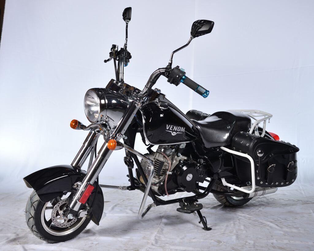 50cc Venom FatBoy Mini Chopper - Automatic | DONNE E MOTORI GIOIE E
