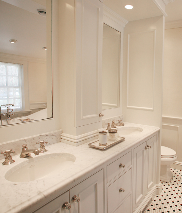 Elegant White Master Bedrooms: MSM Property Development: Chic, Elegant Master Bathroom
