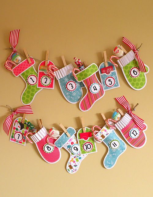 From the Doodlebug blog. These are adorable!