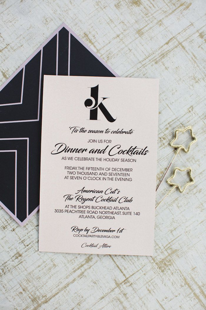 Invitation from a Glam Holiday Progressive Dinner on Kara\'s Party ...