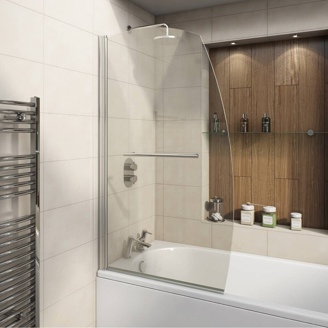 100 Sail bath screen | Bathroom Ideas | Pinterest | Bath screens ...