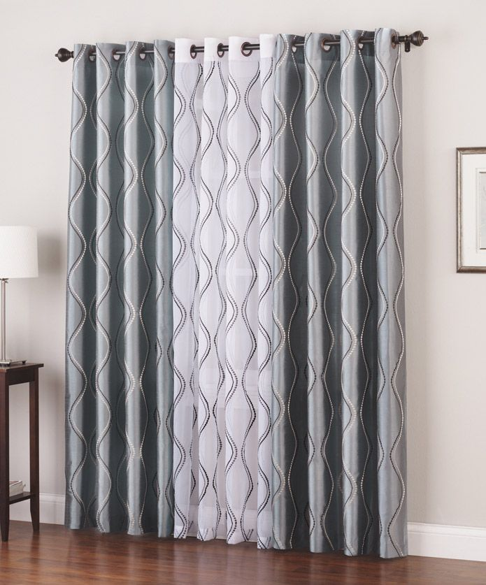 Use Two Different Colored Panels To Add Dimension To Your Windows Annaslinens Curtains Home Curtains Panel Curtains Curtains