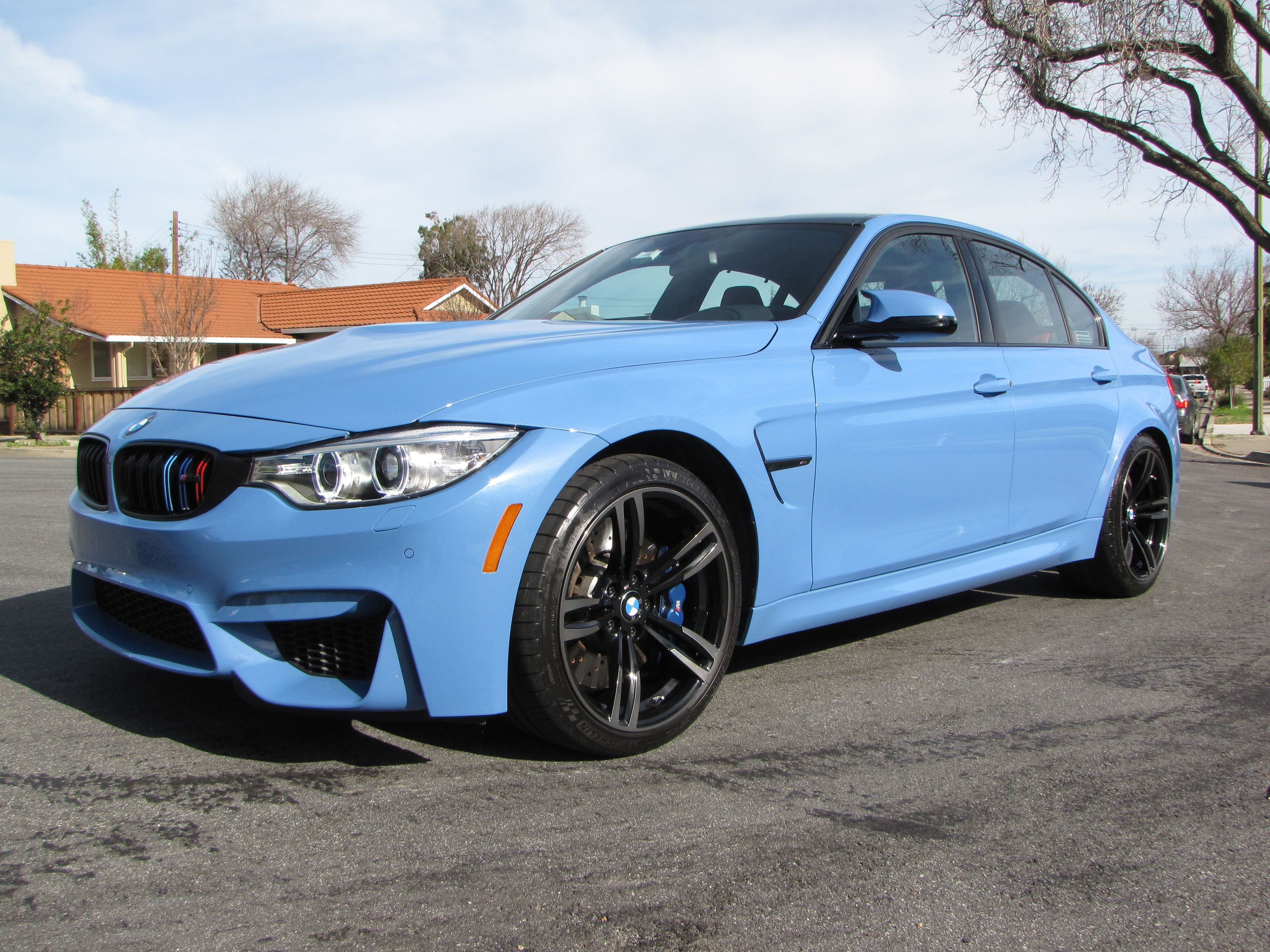 2015 Bmw M3 Paint Correction And Gloss Coat Ceramic Coating Windshield Glass 2015 Bmw M3