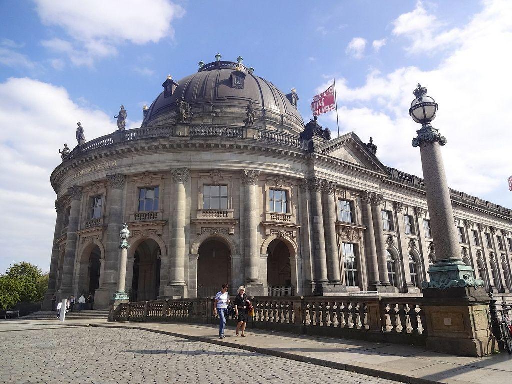 Bode Museum Berlin Germany Historical Architecture Museum Island Berlin