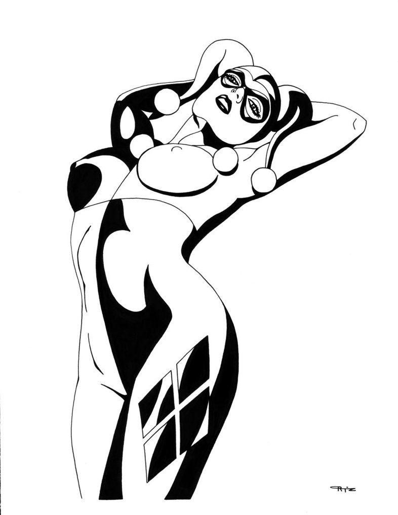 Harley Quinn Strip Tease