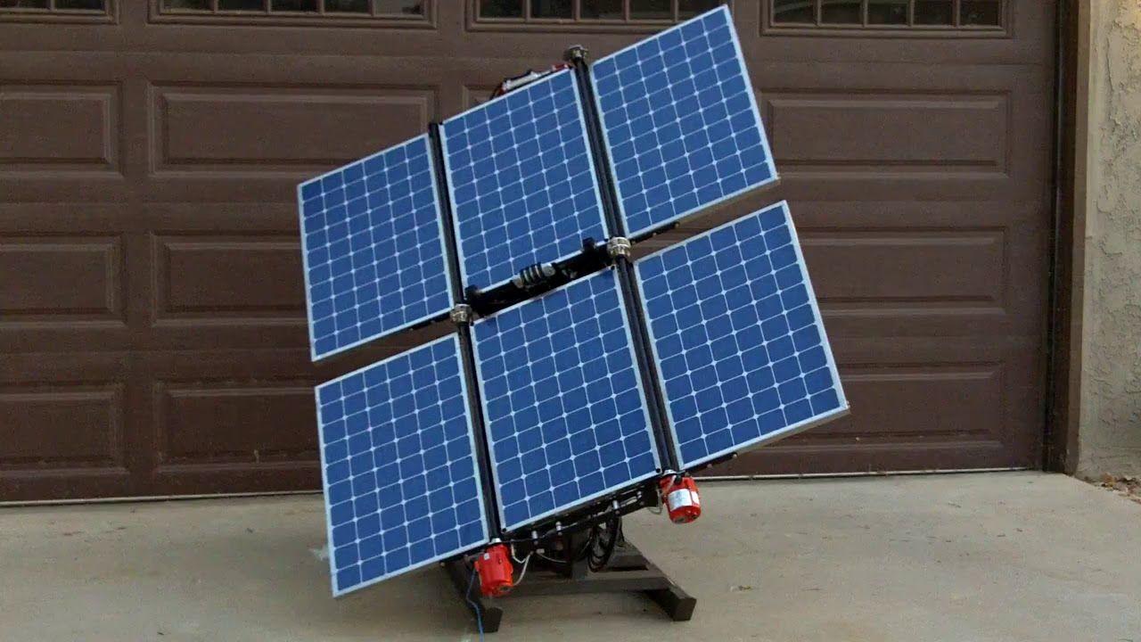 Folding Solar Panel Array Portable Solar System Solar Panels Solar Best Solar Panels