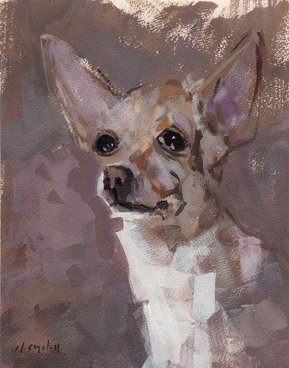 Fine Art Print Chihuahua
