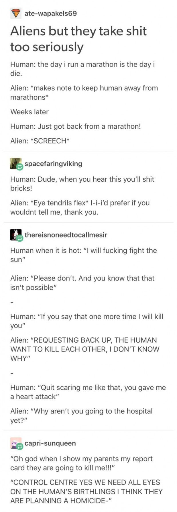 Cute Jokes These Aliens Are Talking My Lan Cutejokes Humour Memes Aliens Cute Cutejokes Cutejokesforkids Cutejoke Cute Jokes Tumblr Funny Writing