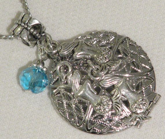H20 Just Add Water Inspired 3 Mermaids Charm Pendant