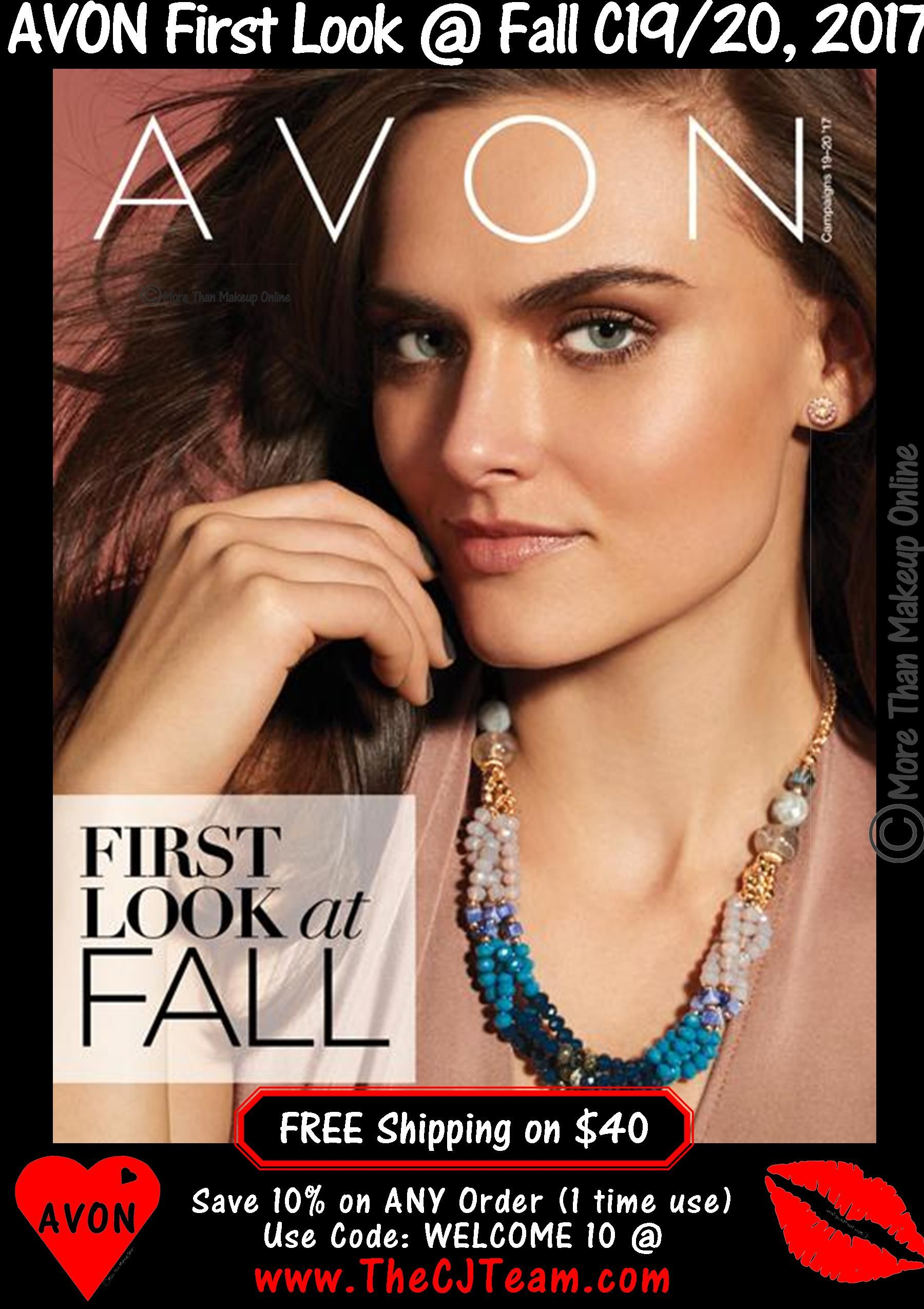 Avon Campaign 19/20, 2017 First Look at Fall Avon Sales