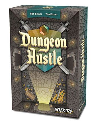 Dungeon Hustle Board Game Graphic Design