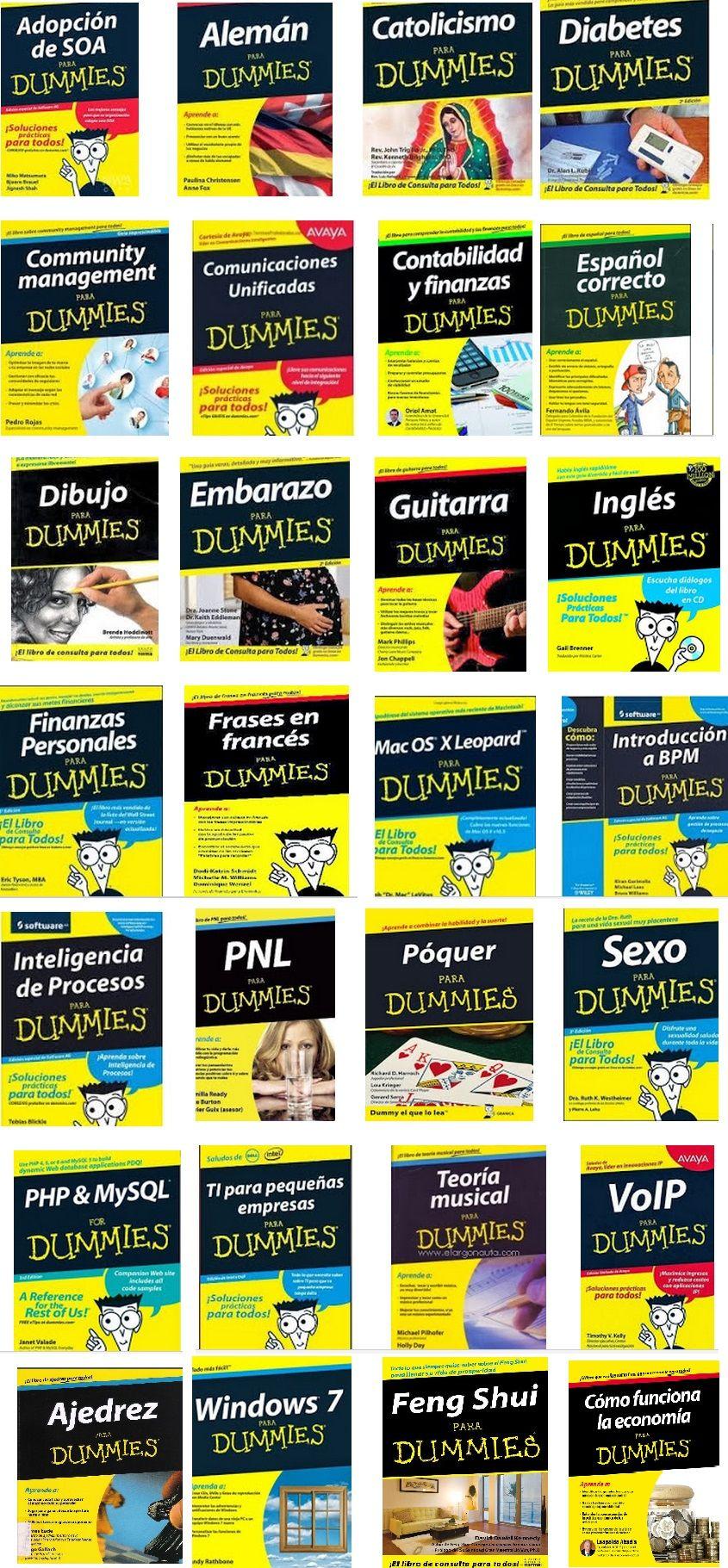 28 Libros Para Dummies Pdf Español Ebook Para Dummies Cosas Para Leer Libros Digitales Gratis