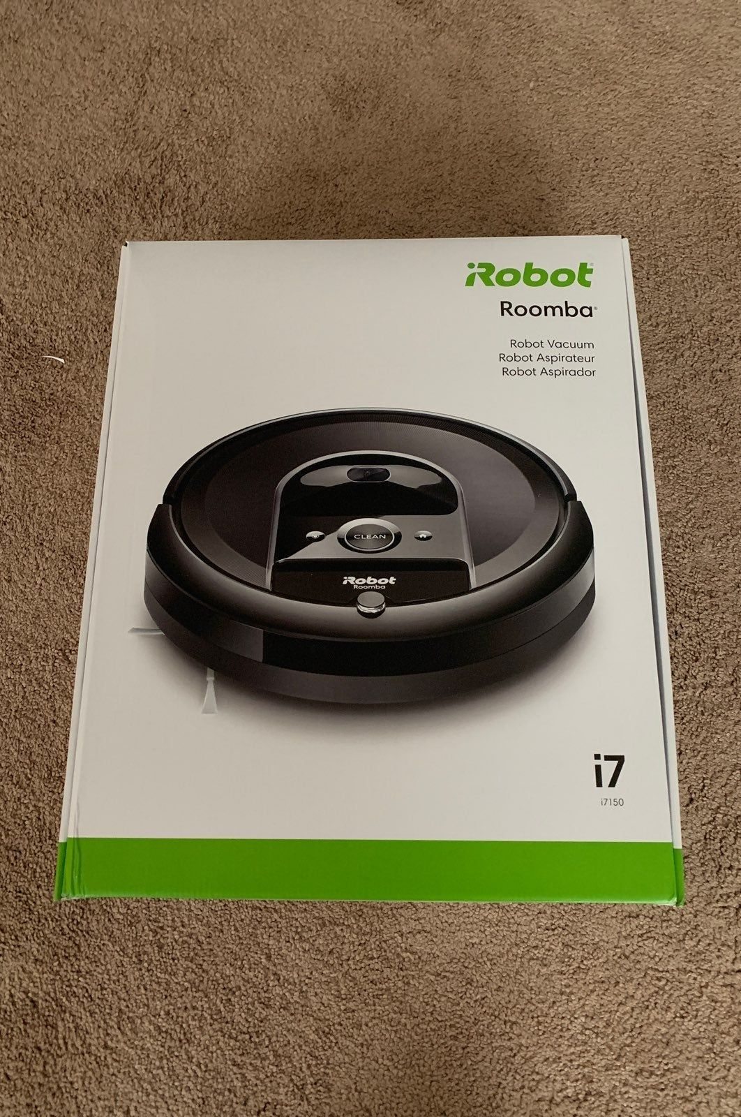 New Never Opened Irobot Roomba I7 Vacuum Wifi Connected Irobot Roomba Roomba Irobot