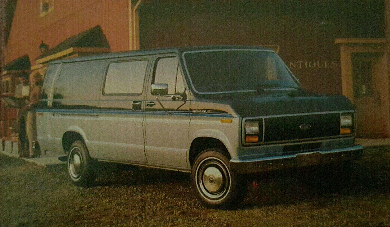 1984 Ford Econoline Extended Van Cars Trucks Vans Vehicles