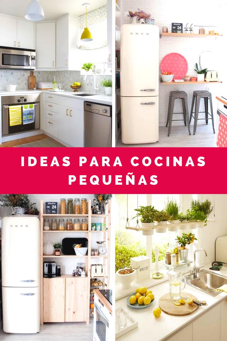 Cocinas Pequenas Ideas Para Decorar Cocinas Pequenas Decorar Cocinas Pequenas Cocinas Pequenas Cocinas