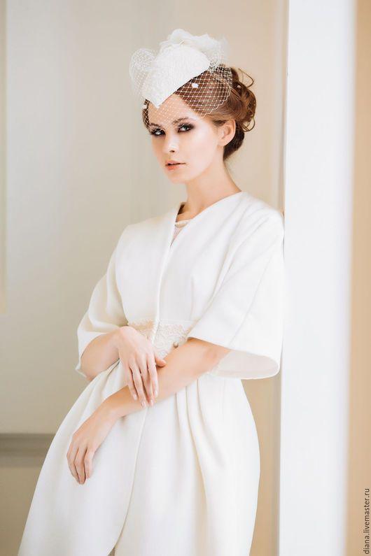 061fad34fff Wedding coat   Одежда и аксессуары ручной работы. Ярмарка Мастеров - ручная  работа. Купить Свадебное пальто. Handmade. Белый