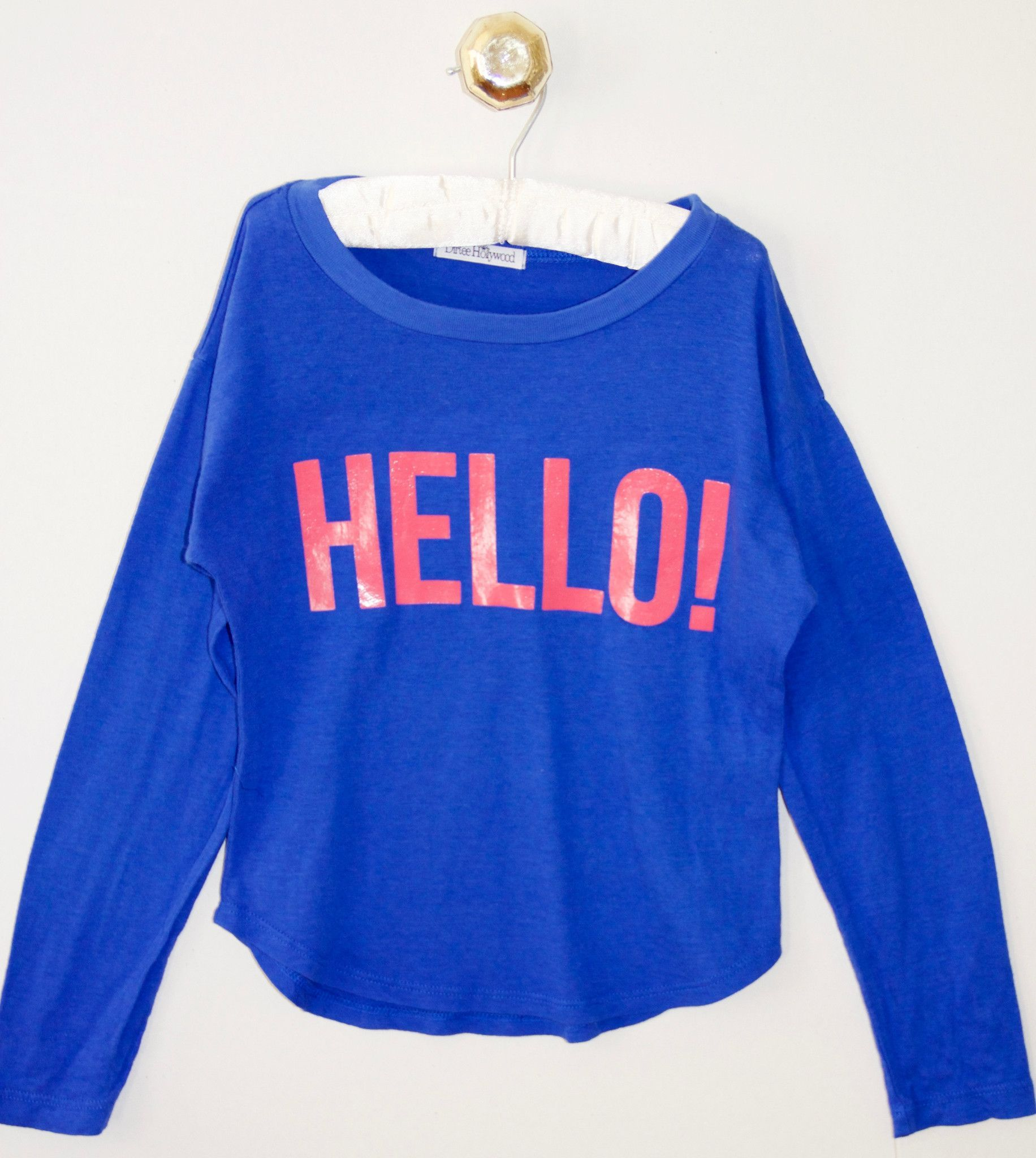 Hello/Goodbye Long Sleeve Tee