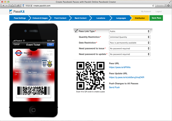 Passkit Pass Designer A Must Have Tool For Any Budding Pass Designer Must Have Tools Passbook Blog