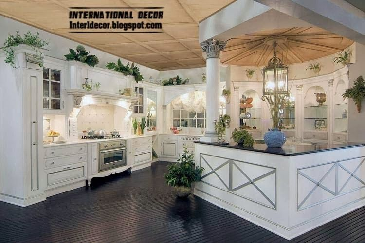 elegant white kitchen designs and ideas white kitchen from white kitchen cabinet designs - Luxury White Kitchens