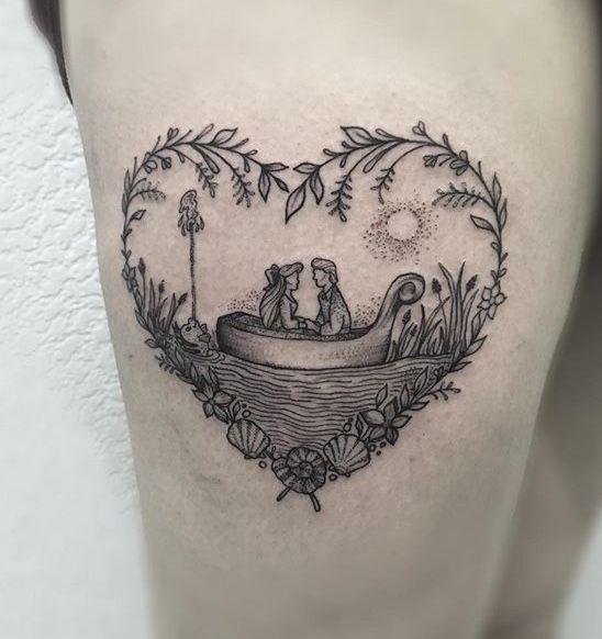 Little Mermaid Quotes Tattoo