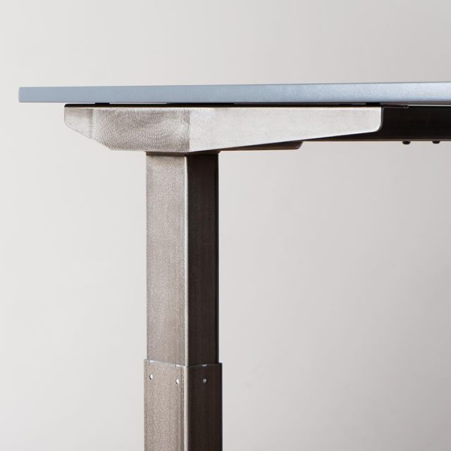 Hereu0027s A Closer Look Of Our Newest Jarvis Standing Desk Frame Option,  Alloy. Ainu0027t She A Beaut?!