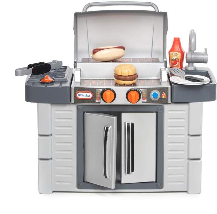 Little Tikes Cook 'n Grow BBQ Grill Playset   Kids play ...