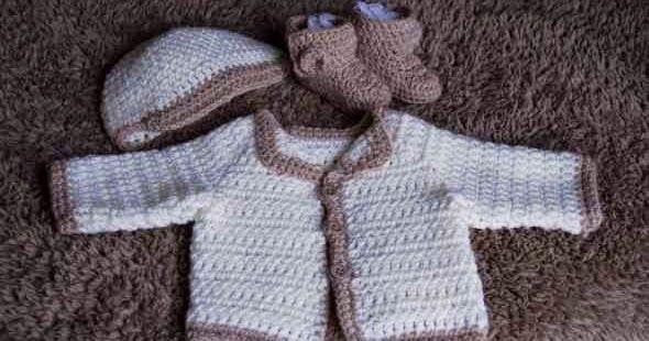 Free Crochet Pattern for a Newborn Baby Cardigan (Easy)   Pinterest