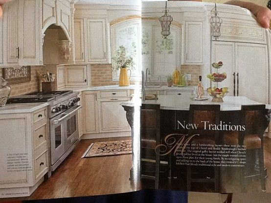 Two tone cabinetry... Beige backsplash..would look nice with beige caesarstone on cream cabinets & cream caesarstone on island.?? With ivory stone flooring.