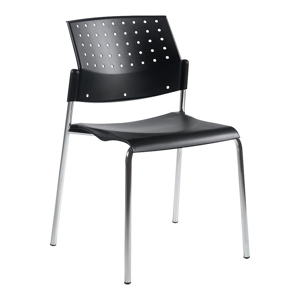 Global Sonic Armless Stacking Chairs 32 H X 20 1 2 W X 21 3 4 D