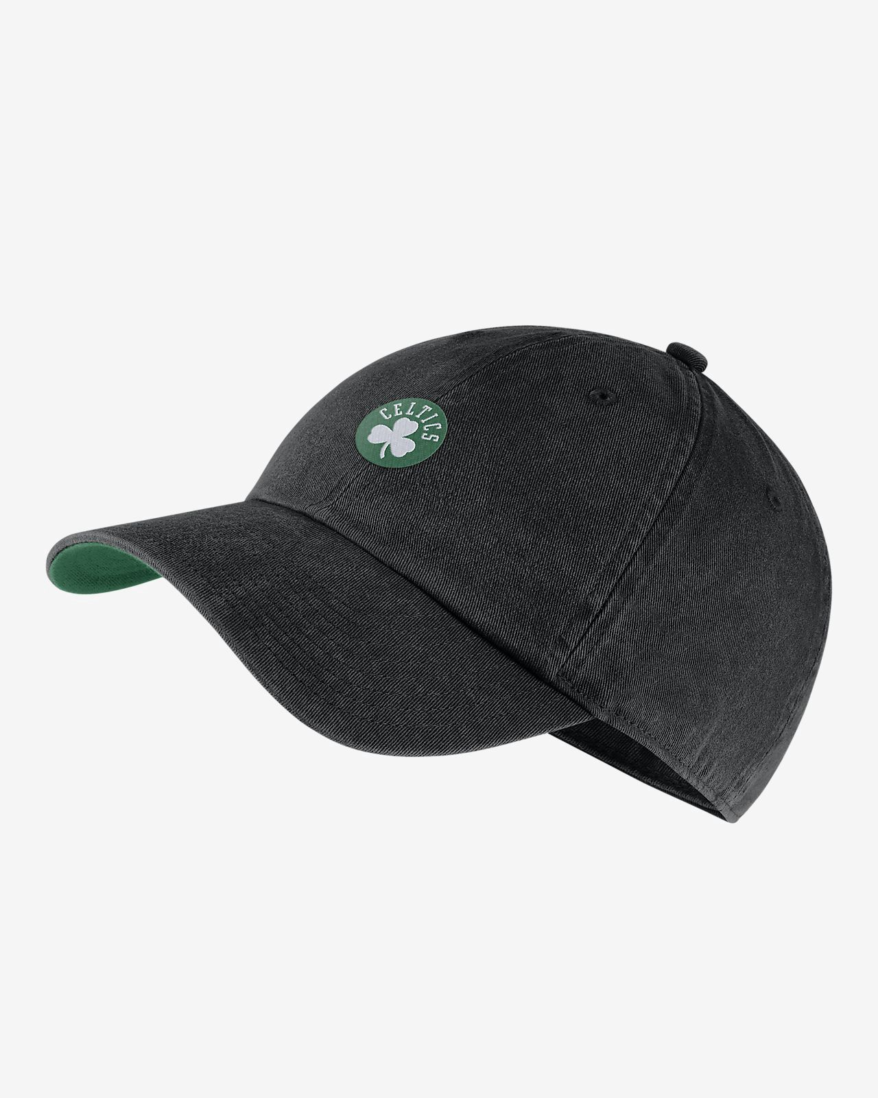 16729e7d3 Nike Boston Celtics Heritage86 Nba Hat - Black/Clover Os | Products ...