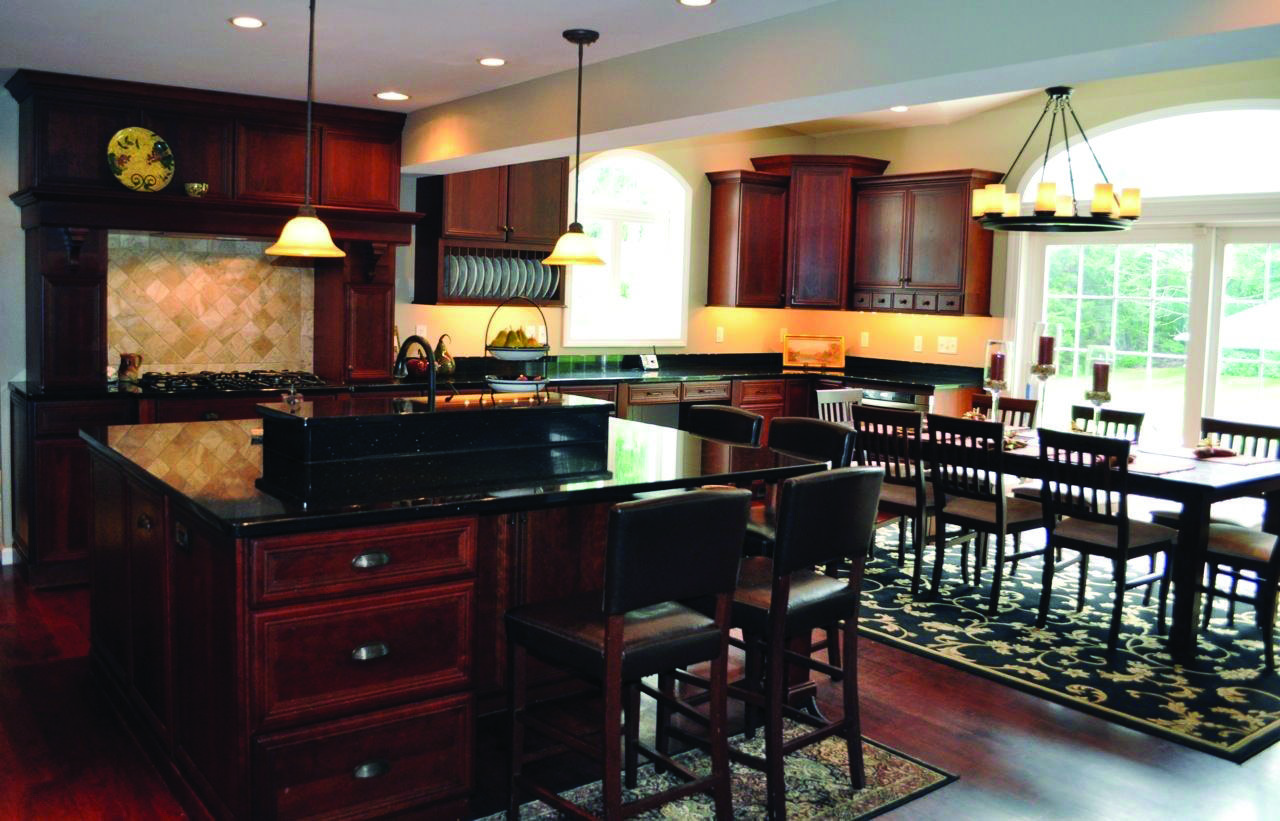 Dark Marble Countertops Colors Styles Kitchen Cabinets And Granite Cherry Cabinets Kitchen Black Granite Countertops