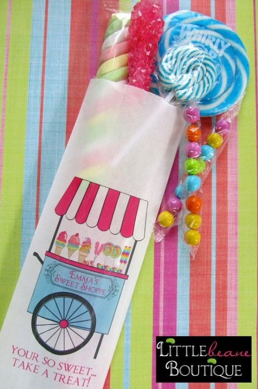 Fun Candy Buffet Bags