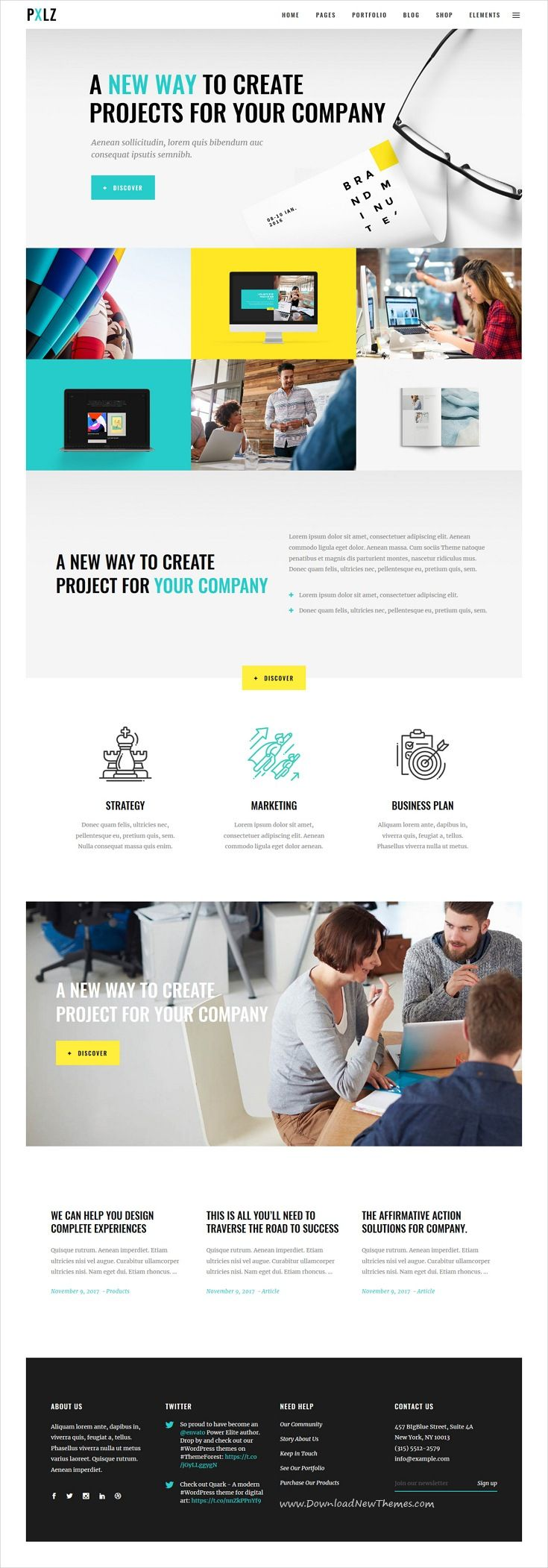 Pxlz Is Clean And Modern Design Responsive Multipurpose Wordpress Theme For Creative Designers Ag Creative Design Agency Web Layout Design Web Design Agency