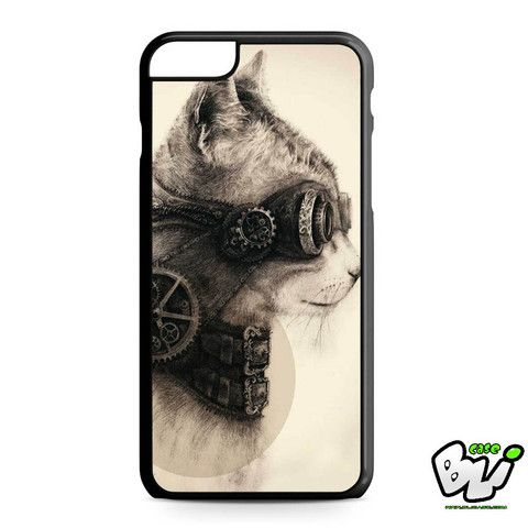 Steampunk Cat iPhone 6 Plus Case | iPhone 6S Plus Case