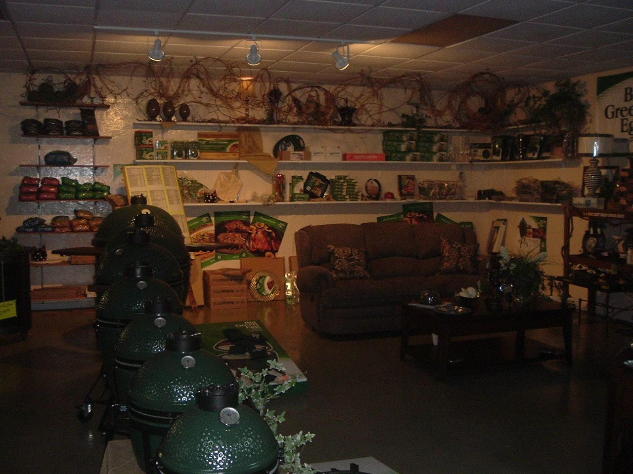 Big green eggs and accessories in stock big green egg