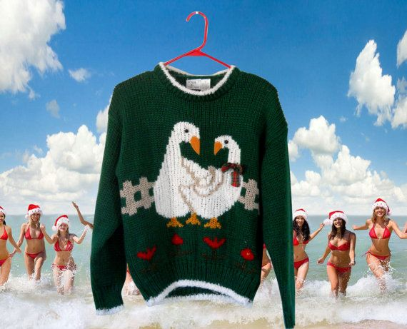 Holiday Sweater Ugly Christmas Sweater by SecondhandObsession #uglychristmassweaters #uglychristmassweatersformen #uglychristmassweater #uglychristmassweaterparty