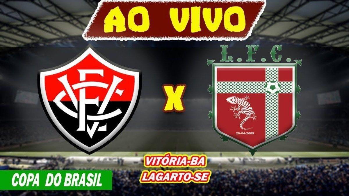 Assistir Jogo Do Vitoria X Lagarto Ao Vivo Online E Na Tv Copa