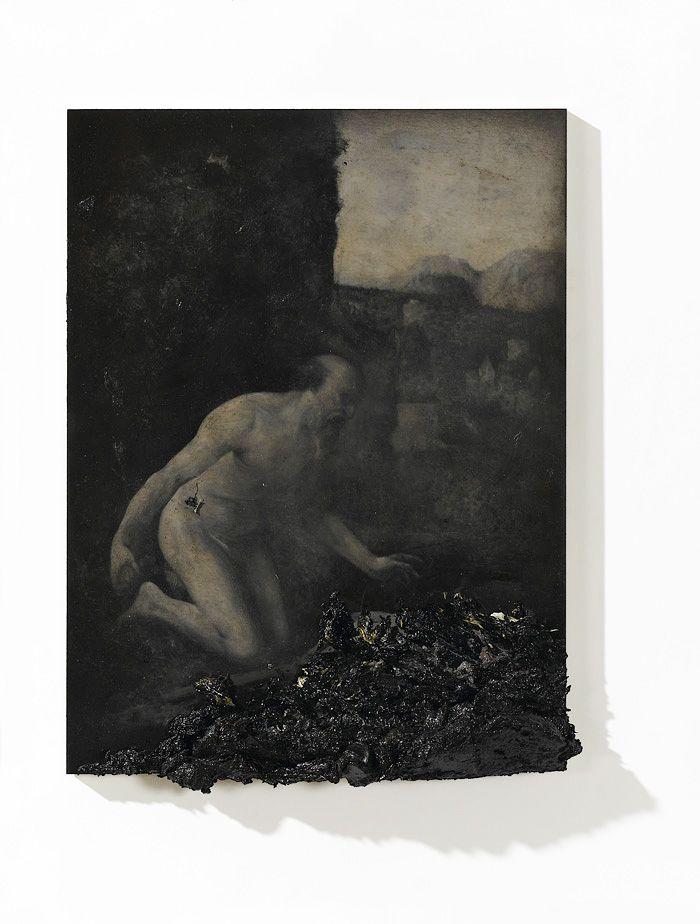 2012, oil on wood, 40 x 30 cm