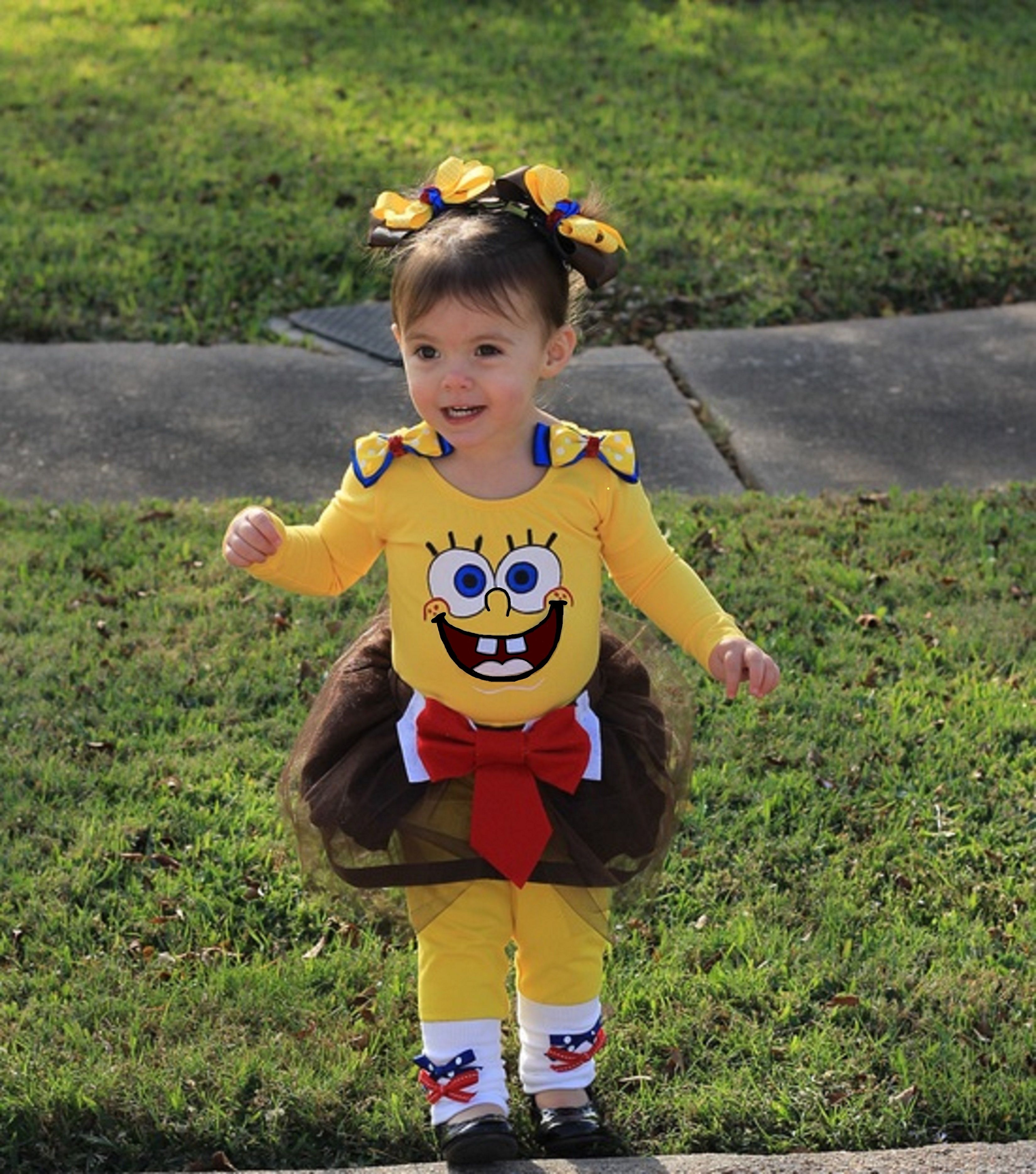 $150 for full handmade custom costume including accessories of your choice. Includes hair accessories and leg warmers. Shoes not included SPONGEBOB GIRLS ...  sc 1 st  Pinterest & $150 for full handmade custom costume including accessories of your ...