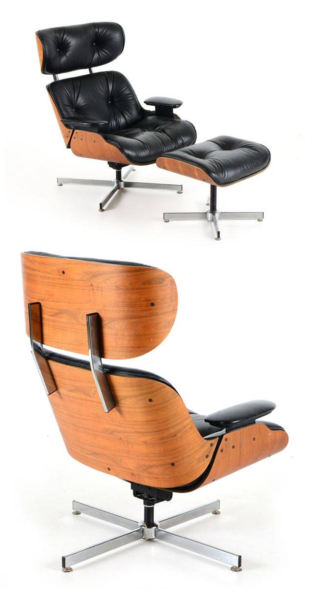 And Y OttomanS L CoEames Chair E Selig Manufacturing Style T WD29EHIY